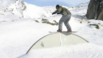 Snowboarden in Val Thorens